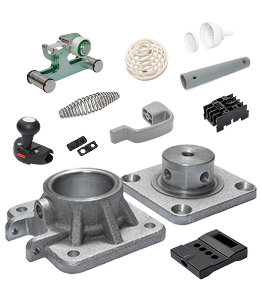 Plastic and metal products manufactured by Rencol